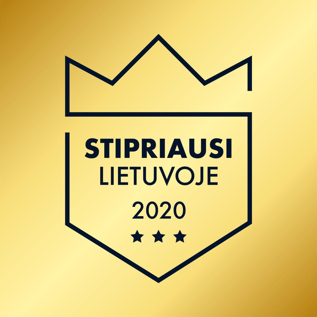 2020 metų pasiekimai – esame tarp stipriausių Lietuvoje!